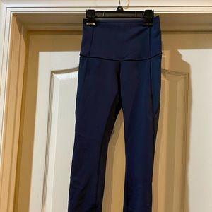 Beautiful Lululemon blue leggings- basically new!
